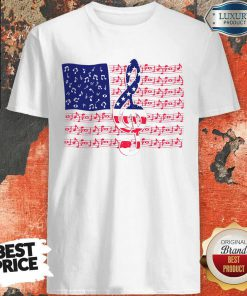 Awesome American Flag Music Shirt