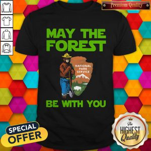 Farmer Bear May The Forest Be With You Shirt