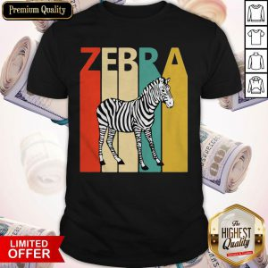 Funny Zebra Animal Animal Gift Baseball Shirt