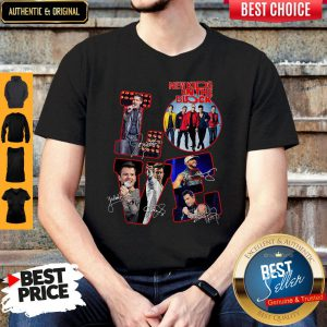 Love New Kids On The Block All Signature Shirt