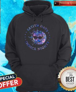 Awesome Sativa Day Indica Nights Hoodie