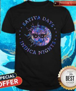 Awesome Sativa Day Indica Nights Shirt