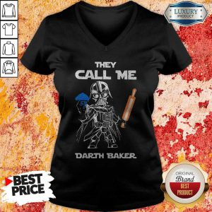 Star Wars Darth Vader They Call Me Darth Baker V-neck