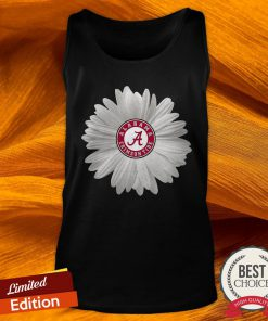 Alabama Crimson Tide Daisy Flower Tank Top