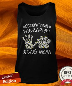 Daisy Occupational Therapist And Dog Mom Paw Tank Top