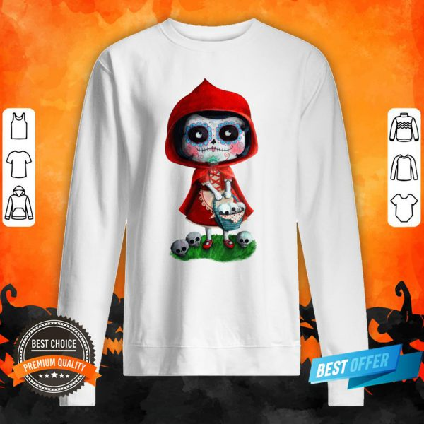 Dead Red Riding Hood Halloween Sweatshirt