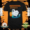 Ghost Cat Purranormal Activity Funny Halloween shirt