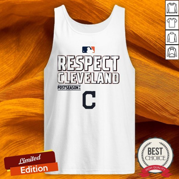 Respect Cleveland Indians Fanatics Branded Red 2020 Postseason Tank Top