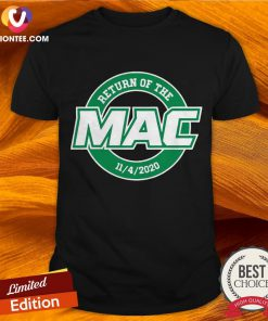 Awesome Return Of The Mac Shirt