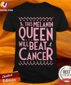 Black Queen African American Breast Cancer Awareness Quote Shirt