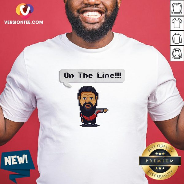 Official On The Line 2020 Shirt - Design By Versiontee.com