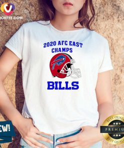 2020 Afc East Champs Buffalo Bills V-neck - Design By Versiontee.com