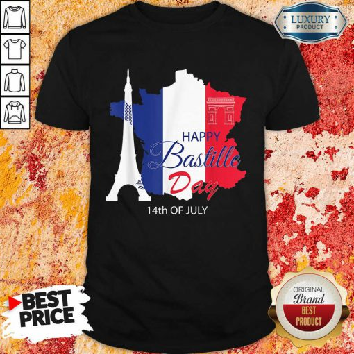 Happy Bastille Day 14th Of July Shirt